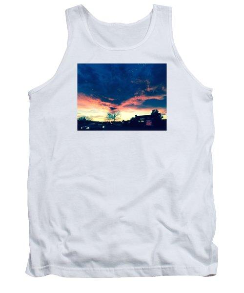 Dense Sunset Tank Top