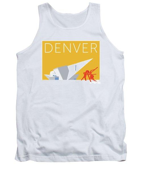 Denver Art Museum/gold Tank Top