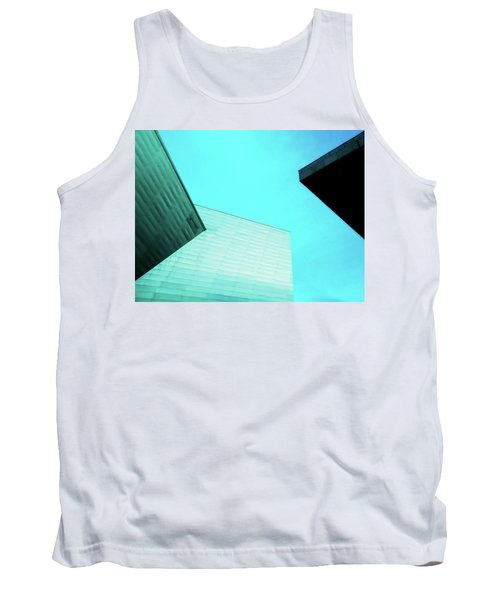 Tank Top featuring the photograph Denver Art Museum Hamilton by Marilyn Hunt