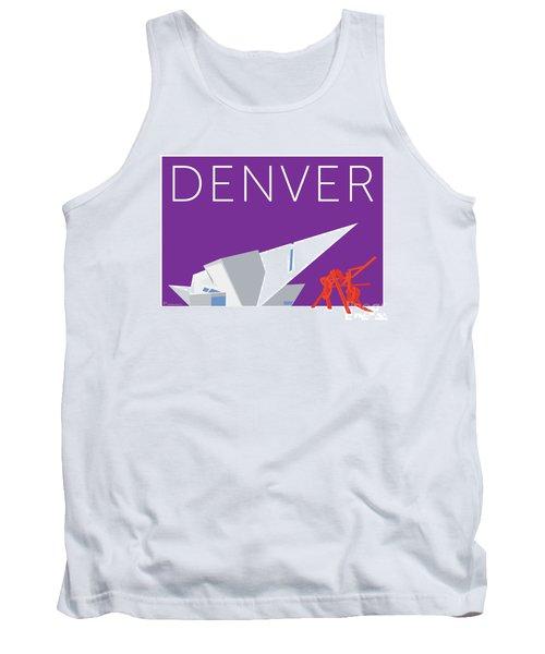 Denver Art Museum/purple Tank Top