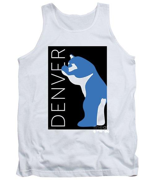 Denver Blue Bear/black Tank Top