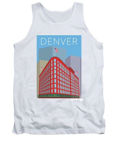 Denver Brown Palace/blue Tank Top