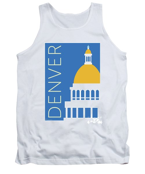 Denver Capitol/blue Tank Top