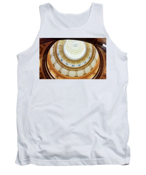 Tank Top featuring the photograph Denver Capitol Dome 1 by Marilyn Hunt