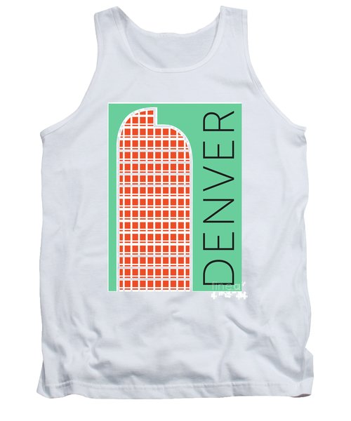 Denver Cash Register Bldg/aqua Tank Top
