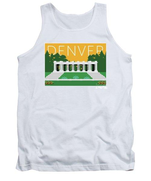 Denver Cheesman Park/gold Tank Top