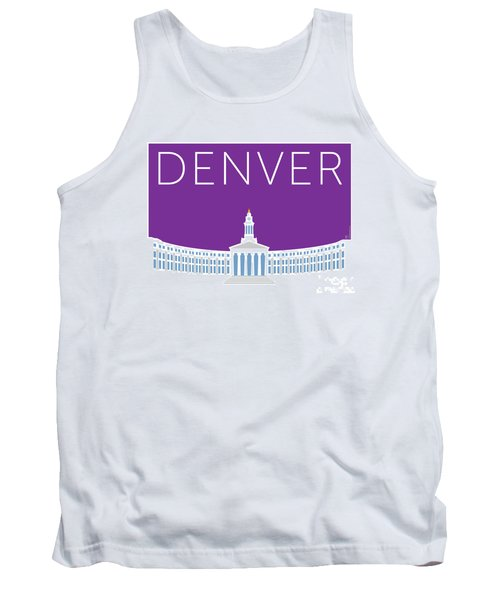 Denver City And County Bldg/purple Tank Top