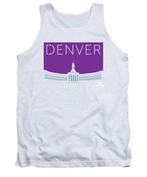 Denver City And County Bldg/purple Tank Top