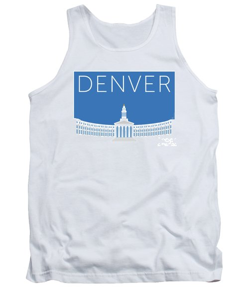 Denver City And County Bldg/blue Tank Top