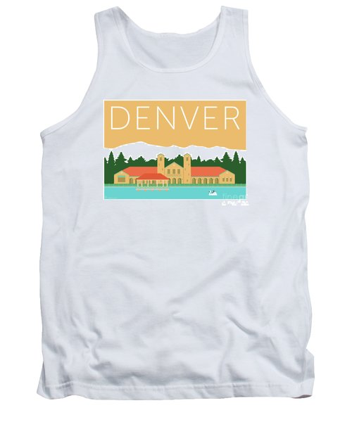 Denver City Park/adobe Tank Top
