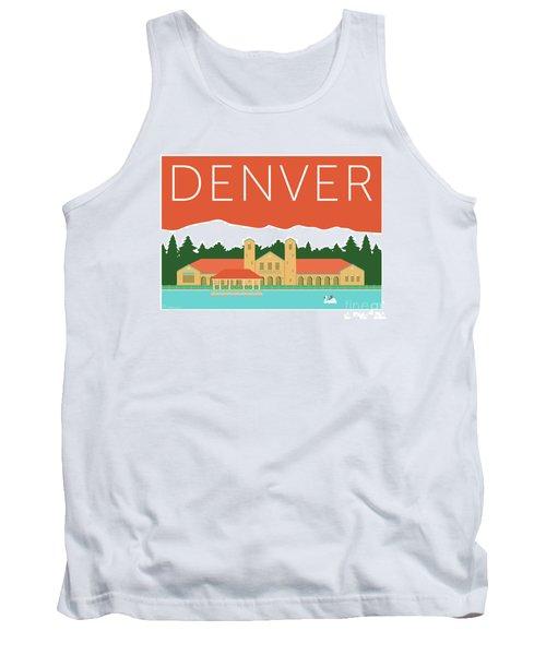 Denver City Park/coral Tank Top