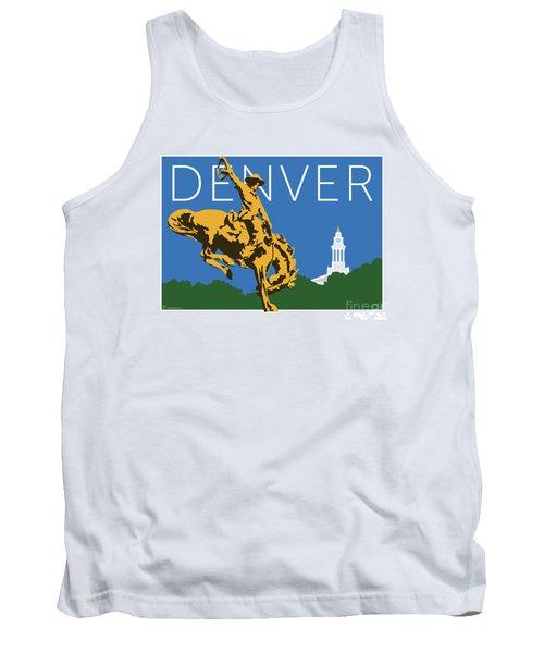 Denver Cowboy/dark Blue Tank Top