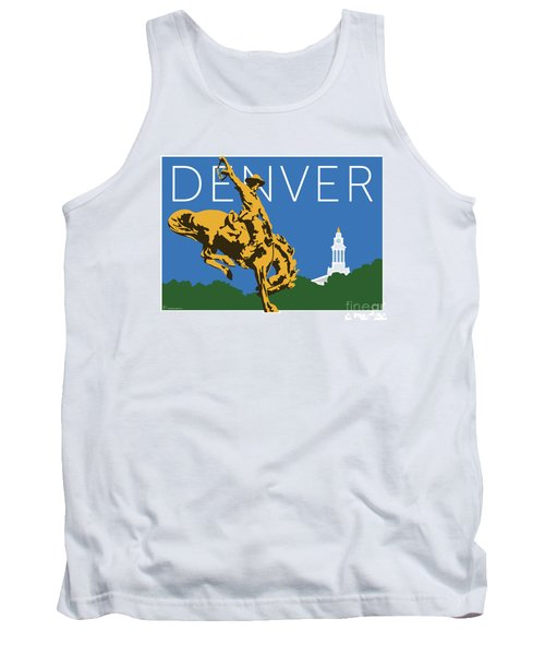 Denver Cowboy/dark Blue Tank Top