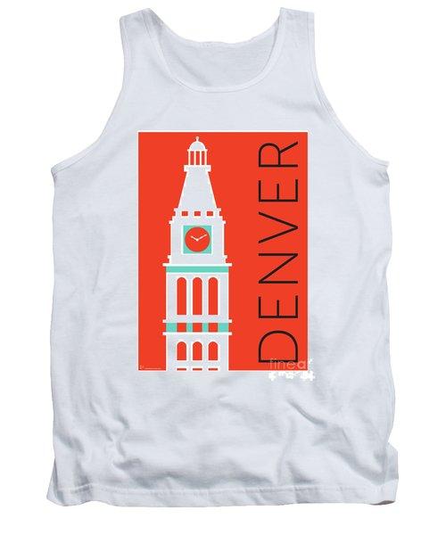 Denver D And F Tower/orange Tank Top