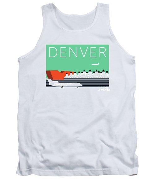Denver Dia/aqua Tank Top