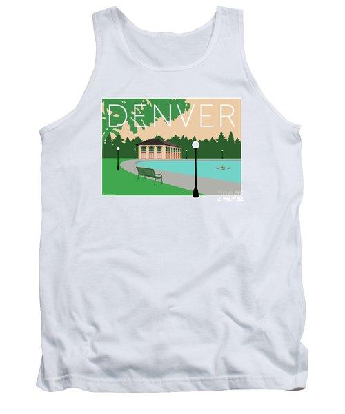 Denver Washington Park/beige Tank Top