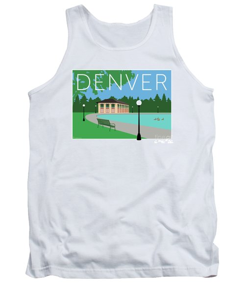 Denver Washington Park/blue Tank Top