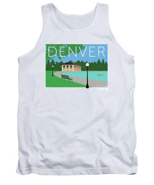 Denver Washington Park/blue Tank Top