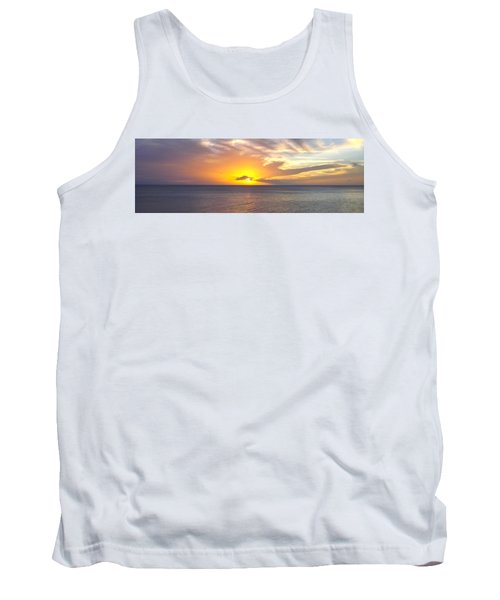 Departing St. Lucia Tank Top