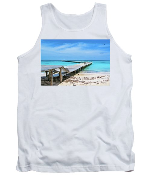 Departure Point Soft Tank Top