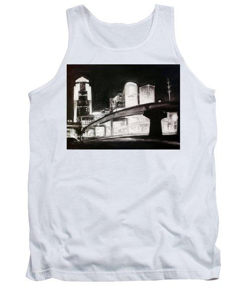 Des Moines Skyline #10 Tank Top
