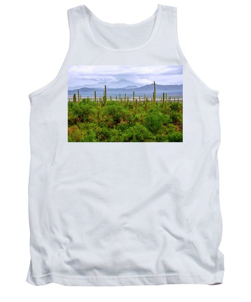 Desert Green Tank Top