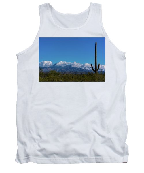 Desert Inversion Cactus Tank Top