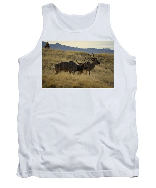 Tank Top featuring the photograph Desert Palm Landscape by Guy Hoffman