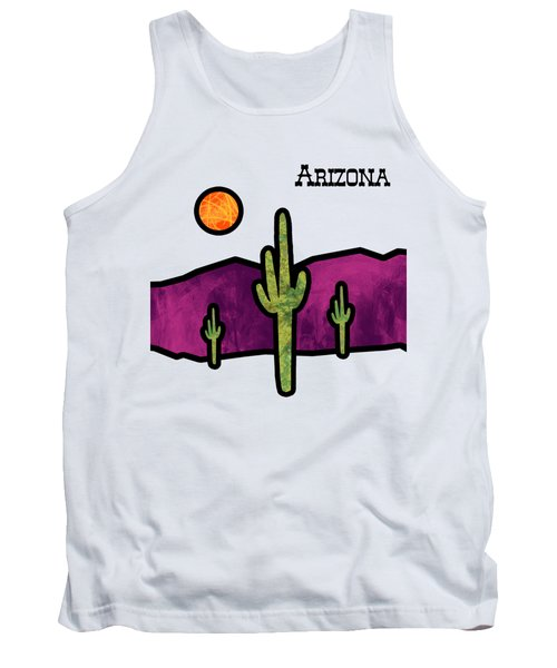 Desert Stained Glass Tank Top