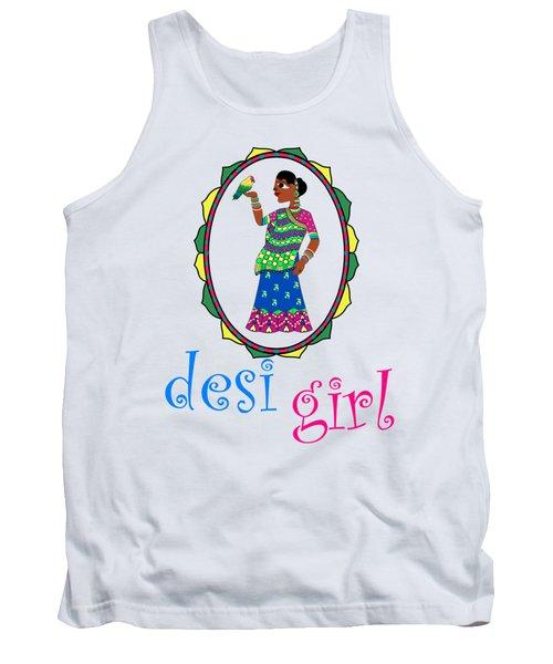 Desi Girl Tank Top