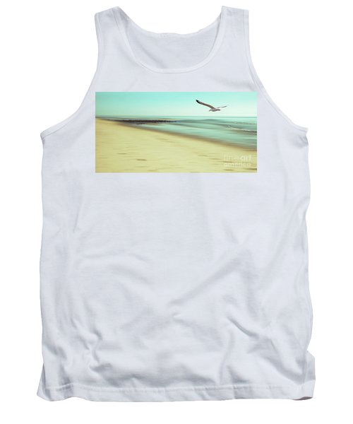 Tank Top featuring the photograph Desire Light Vintage2 by Hannes Cmarits