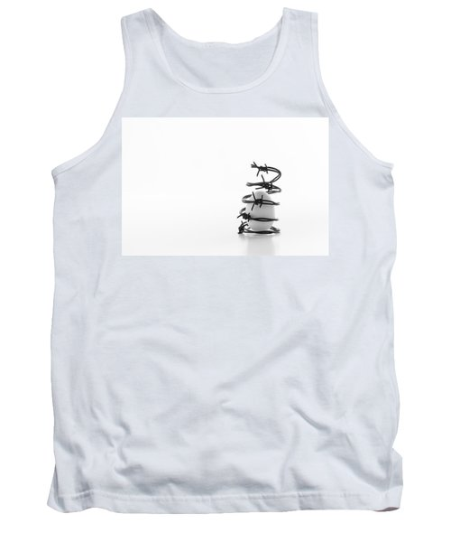 Destined To Be A Prisoner For Life Tank Top by Yvette Van Teeffelen
