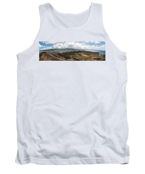 Diamond Head View Panoramic Tank Top