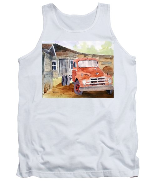 Diamond In The Rough Tank Top by Larry Hamilton