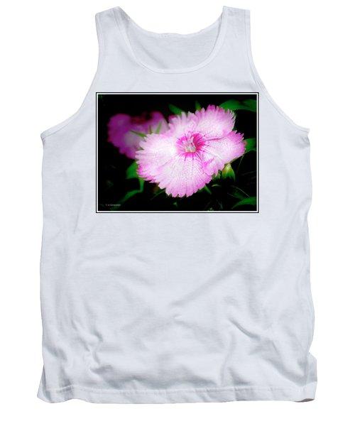 Dianthus Flower Tank Top