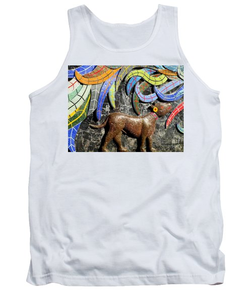 Diego Rivera Mural 4 Tank Top by Randall Weidner
