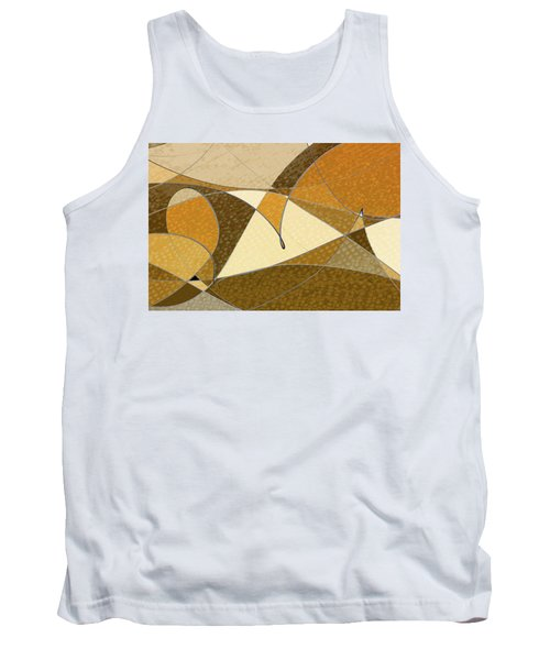 Diffusion Tank Top by Don Gradner