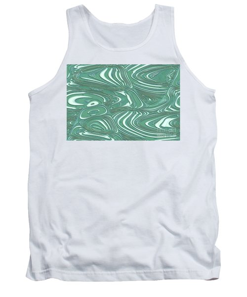 Digital Abstract Tank Top by Marsha Heiken