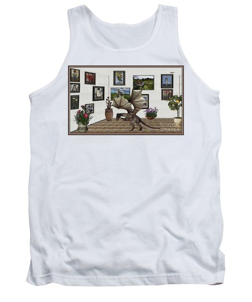 Digital Exhibition _ Dragon Tank Top