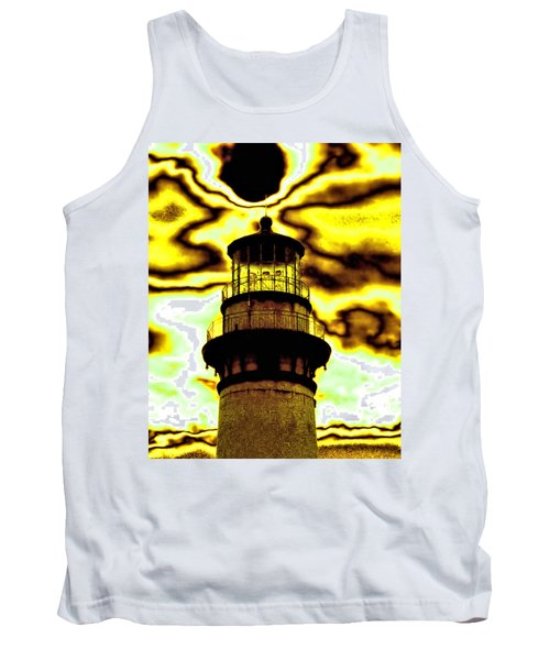 Tank Top featuring the photograph Dimensional Transfer Station by Bob Wall