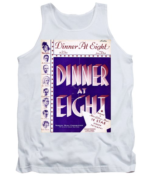 Dinner At Eight Tank Top