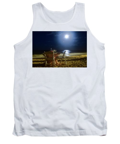 Dinner For Two In The Moonlight Tank Top