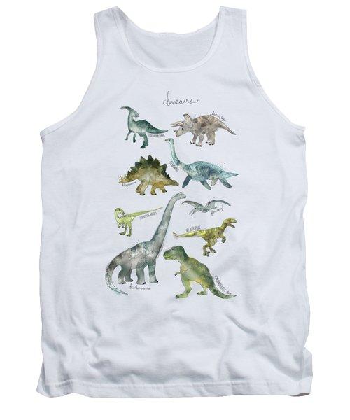 Dinosaurs Tank Top by Amy Hamilton