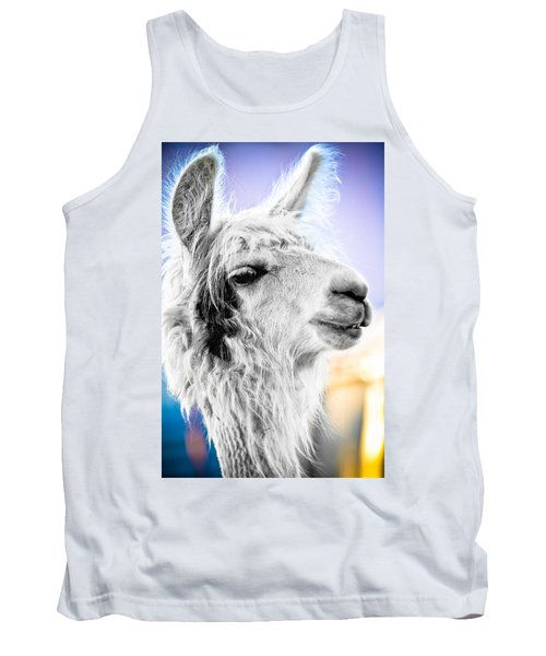 Dirtbag Llama Tank Top by TC Morgan