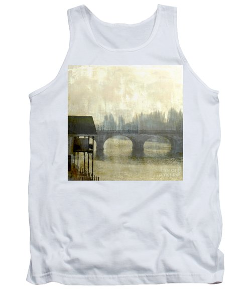 Tank Top featuring the photograph Dissolving Mist by LemonArt Photography