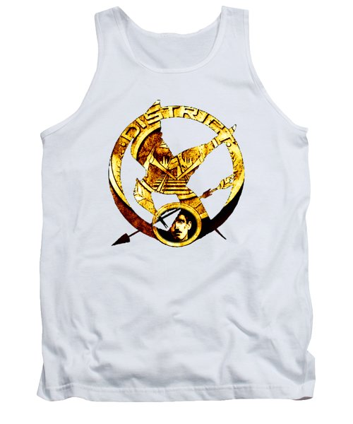 Tank Top featuring the photograph District 12 T-shirt by Kathy Kelly