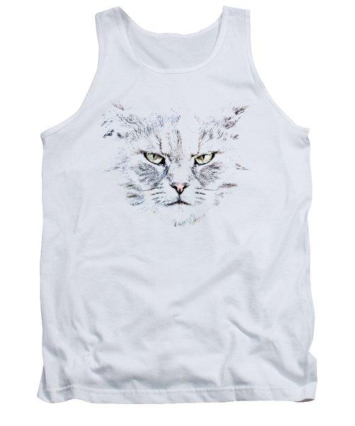 Disturbed Cat Tank Top