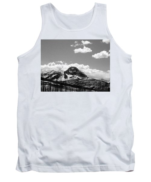 Divide In Blackand White Tank Top