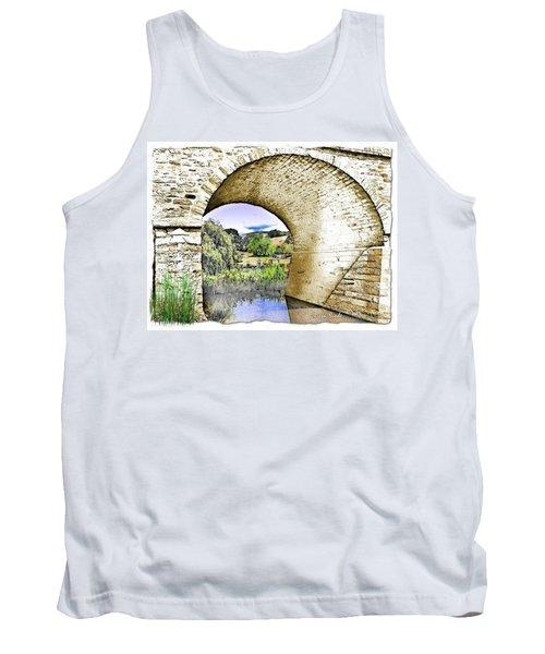 Tank Top featuring the photograph Do-00262 Richmond Bridge by Digital Oil