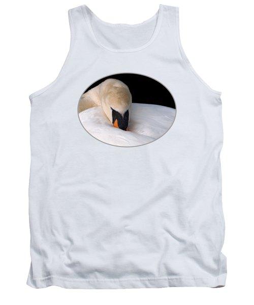 Do Not Disturb - Swan On Nest Tank Top